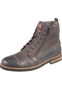 Bota Shoes Grand Urbano Verde Militar Tamanho Especial - Kanui