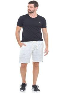 Bermuda Moletom Injection Botonê D'Affari Masculina - Masculino