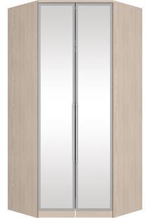 Guarda-Roupa Canto Closet 2 Portas Diamante Fendi M301-42 Henn