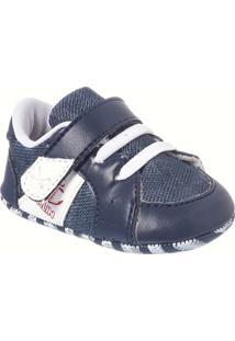 Sapato Bebê Masculino Klin Âncora - Masculino