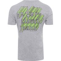 Shop2gether. Camiseta Masculina Estampa Costas - Cinza aa11fb1d004fd