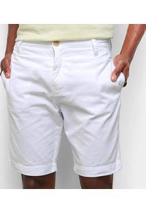 Bermudas Calvin Klein Masculino Cm0Pc13Bc599 - Masculino-Branco
