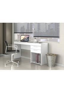Mesa Office 02 Gavetas Notável Branco