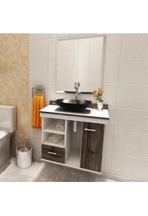 Gabinete Para Banheiro Tsuki Premium Gabinetes Com Porta Gaveta Esp.