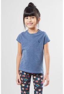 Camiseta Infantil Gota Pica-Pau Bordado Reserva Mini Feminina - Feminino