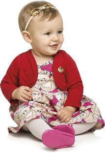 Vestido Infantil Com Bolero - Elian