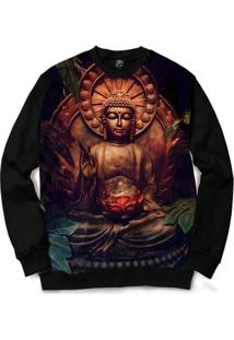 Blusa Bsc Buddha Full Print - Masculino