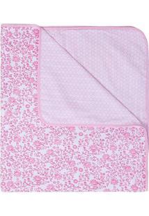 Manta Compose- Rosa Claro & Rosa- 80X90Cmpapi