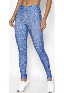 Legging Abstrata - Azul & Verdewilson