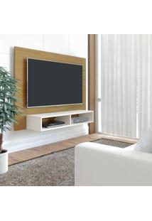 Painel Para Tv Até 47 Polegadas Flash Freijó E Off White
