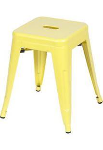 Or Design Jogo De Banquetas Retrã´ Baixa Amarelo 2Pã§S