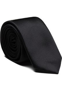 Gravata Seda Black
