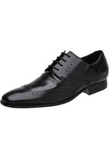 bbb1557d4 Sapato Oxford Masculino Malbork Em Couro Preto 60050 Preto