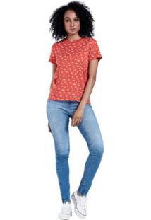 Camiseta Levis Perfect Pocket Crew - Feminino