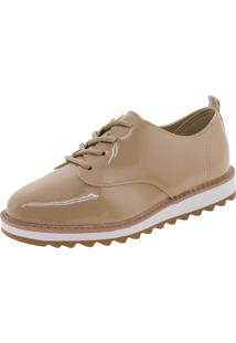 Sapato Infantil Feminino Oxford Molekinha - 2510611 Bege 27