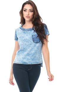 T-Shirt Pkd Bicolor Jeans