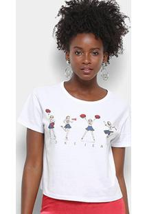 Camiseta Coca-Cola Aroma Cokejea Feminina - Feminino