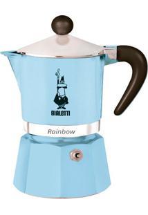 Cafeteira Bialetti Rainbow Azul Claro 3 Xícaras - 29956
