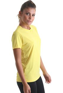 Camiseta Cores Amarelo Praaiah