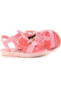 Sandália Infantil Disney Minnie Bow