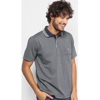 546ab1d1e7 Camisa Polo Em Jacquard Aleatory Manga Curta Masculina - Masculino