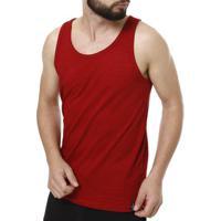 Camiseta Regata Masculina Fido Dido Vermelho 0d71dfd8828