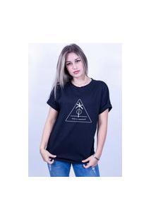 Camiseta Bilhan Corte A Fio Surf E Liberdade 1 Gde Preta