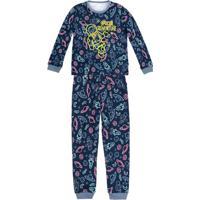 9f1f785fe1 Pijama Infantil Menino Estampado Que Brilha No Escuro Puc
