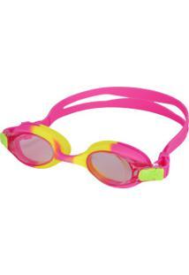 Óculos De Natação Oxer Double Colors - Infantil - Rosa
