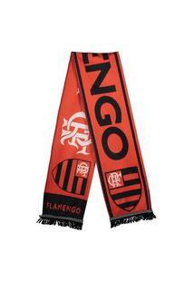 Cachecol Flamengo Escudo Vermelho