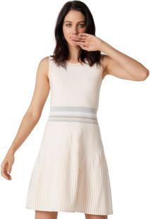 Vestido Curto Tricot Rodado