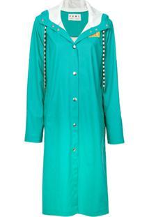Proenza Schouler White Label Trench Coat 'Pswl' - Azul