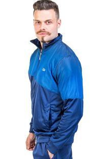 Casaco Dresch 02 Malha Conforto Azul Marinho