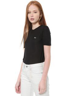 Camiseta Calvin Klein Jeans Lisa Preta