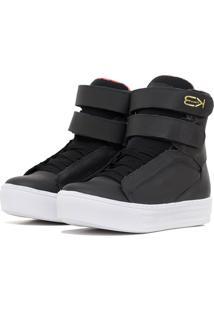 Tãªnis Sneaker K3 Fitness Fit Preto - Preto - Feminino - Dafiti