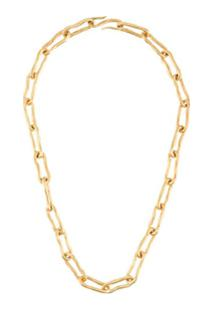 Marlene Juhl Jorgensen Large Flow Necklace - Dourado