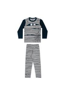 Pijama Infantil Masculino Teia De Aranha Elian
