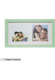 Painel Multifotos Insta- Verde Claro & Branco- 15X28Kapos