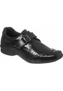 Sapato Social Infantil Classic Redmax B924 - Masculino-Preto