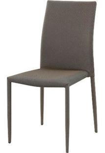 Cadeira Amanda 6606 Tecido Dourado Com Preto - 32875 - Sun House