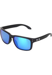 Óculos De Sol Oakley Polarized Masculino - Masculino-Azul