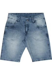 Bermuda Pulla Bulla Jeans Azul