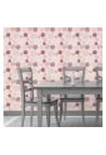 Papel De Parede Autocolante Rolo 0,58 X 5M Floral 151642877