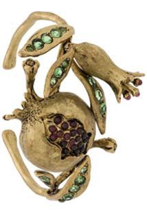 Goossens Bracelete 'Harumi Grenade' - Dourado