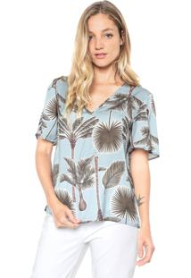 Camiseta Forum Tropical Azul