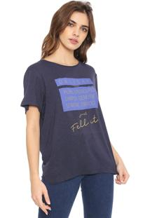 Camiseta Forum Fell It Azul-Marinho