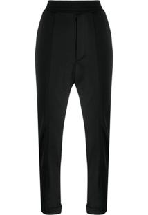 Y-3 Tailored-Style Track Pants - Preto