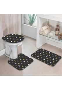 Jogo Tapetes Para Banheiro Modern One - Único