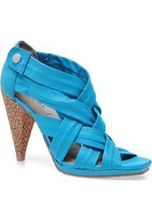 Sandal Boots Fem Tanara 2742 Azul