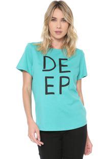 Camiseta Forum Deep Verde